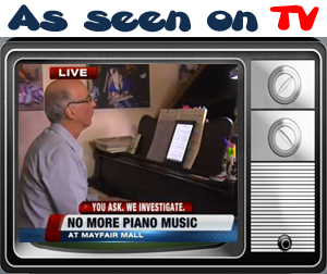 Live performances, Wedding Music, Patrick Byrne, Piano, Mayfair Mall, Romantic, Todd Hicks, TMJ 4