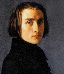 Franz Liszt (October 22, 1811 – July 31, 1886)