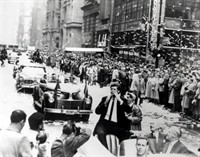 Van Cliburn's Ticker Tape Welcome to New York in April 1958. The only musician to be so honored.