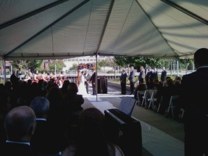 Outdoor Weddings Harley-Davidson Museum in Milwaukee