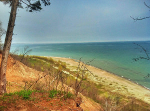 Outdoor Weddings A Mequon bluff overlooking Lake Michigan