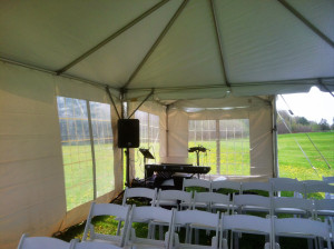 Outdoor Weddings A Room of My Own
