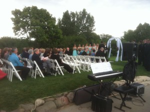 Outdoor Weddings Blue Mound Golf and Country Club