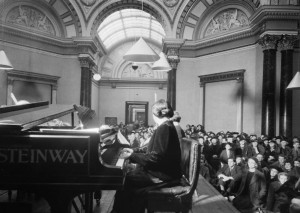 Dame Myra Hess Recital during The Blitz